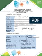 Guía de actividades y Rúbrica de Evaluación - Fase 6 - Evaluación Final POA.docx