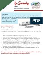 Educational Leaflet #5 - The Aha Boat