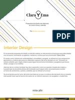 Interior design - Clara Y Ema