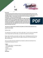 PDF Facemask Tutorial