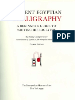 FA beginner's guide to writing hieroglyphs