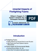 Environmental Impacts of Firefighting Foams