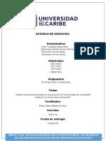 TRABAJO FINAL DE SOCIOLOGIA DE LA COMUNICACION
