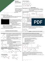 Notes Phytochimie - Résumé