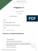 Guida alla terapia magnetica - Magna Pak