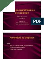 Les tests supraliminaires en audiométrie _(12.2010_)