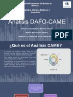 Análisis DAFO-CAME