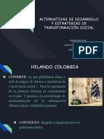 ALTERNATIVAS DE DESARROLLO Y ESTRATEGIAS DE TRANSFORMACIÓN SOCIAL