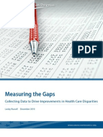 Measuring the Gaps
