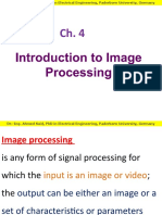 Ch 4- Image Processing