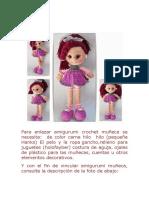 Para enlazar amigurumi crochet muñeca se necesita.docx