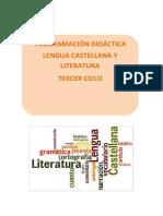 Proramación de Lengua del tercer ciclo.pdf
