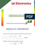 Unit 3 Boolean Theorems