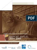 Rapport Annuel Crdp 2004 2005