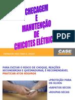 CASE 845 - CHECAGEM E MANUTENCAO DE CHICOTES ELETRICOS