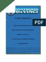 FORO UNIDAD 8 RISH 15032020