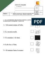 Evaluacion diferenciada lenguaje 2 (permanentes )