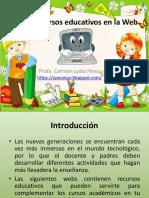 Recursos Educativos en La Web