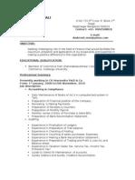 Mali Resume