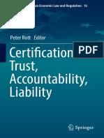 (Studies in European Economic Law and Regulation 16) Peter Rott - Certification – Trust, Accountability, Liability-Springer International Publishing (2019).pdf