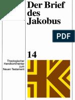 Der-Brief-des-Jakobus-Theologischer-Handkommentar-zum-Neuen-Testament-Bd-14-