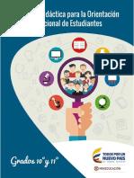 secuencia didactica para la orientacion socio-ocupacional
