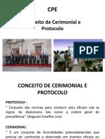 Aula 1 - Conceito de Cerimonial e Protocolo