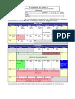 Comunicado Calendario Académico