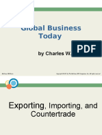 IBM, Session 5 (Exporitng, Importing & Countertrade)