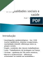 Desigualdades sociais e saúde