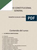 DIAPOSITIVAS DERECHO CONSTITUCIONAL ACTUALIZADAS PROFESOR RAMON ELEJALDE
