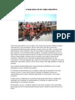 Beneficio a Largo Plazo de Los Viajes Educativos