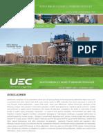 UEC Investor Presentation