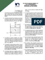 Taller 5. Balance de energía sistemas cerrados (Primera ley)