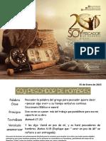 Escuela Dominical- Pescador II escuela dominical