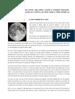 la cara visible de la luna