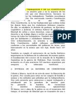 ACTO DÍA DEL TRABAJADOR Y DE LA CONTITUCIÓN