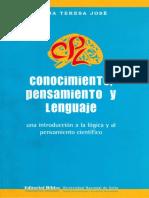 Conocimiento, pensamiento y lenguaje - Elena Teresa José.pdf
