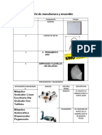 Diseño de manufactura y ensamble 2.9