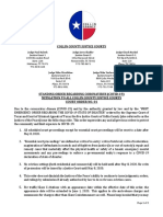 Collin County - Eviction Order