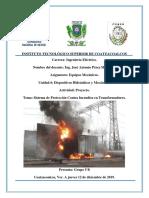 Sistema de Protección Contra Incendios en Transformadores.