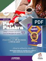 PAN COLOMBIA 29 al 4 abril.