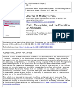 Plato, Thucydides, And the Education of Alcibiades