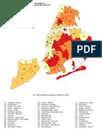 Coronavirus in NYC by neighborhood