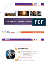 Sgs Technologie Corporate Profile