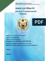 Seminario Los Mitos III La Caverna de Platon Enero 2012.doc