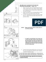 Hino J08C Engine Valve Adjustment Procedure, Valve Lash Clearance Specifications, Hino J08C Engine Parts, Www.heavyEquipmentRestorationParts.com