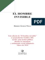 El hombre invisible Gradifco
