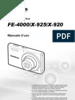 Olympus FE-4000 X-925 X-920 ITA