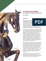 Pedro Cervantes escultor